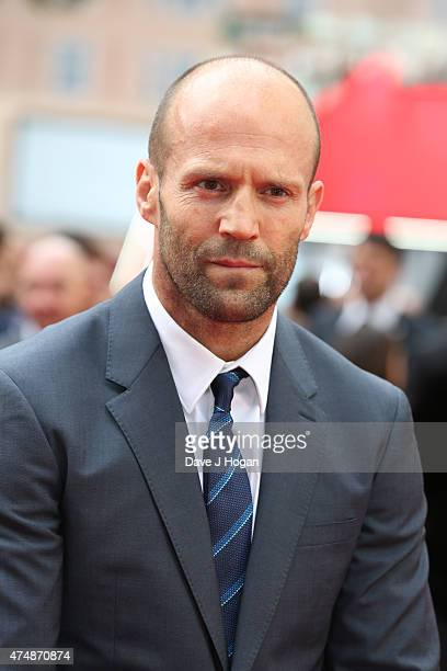 Actor Jason Statham attends the UK Premiere of 'Spy' at Odeon Leicester Square on May 27 2015 in London England