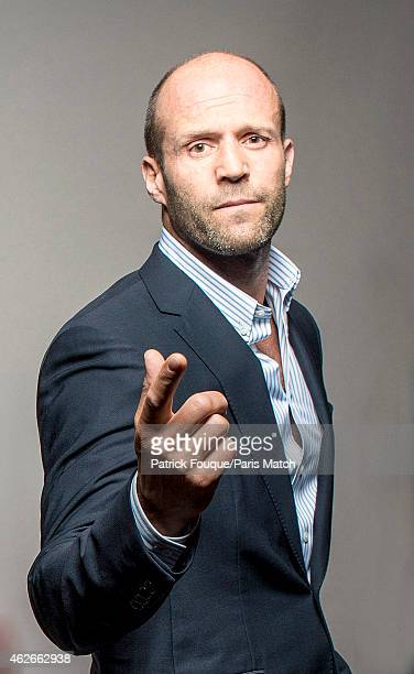 Actor Jason Statham is photographed for Paris Match on August 7 2014 in Paris France