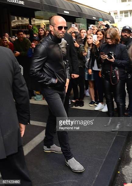 Actor Jason Statham is seen in Midtown on May 2 2016 in New York City