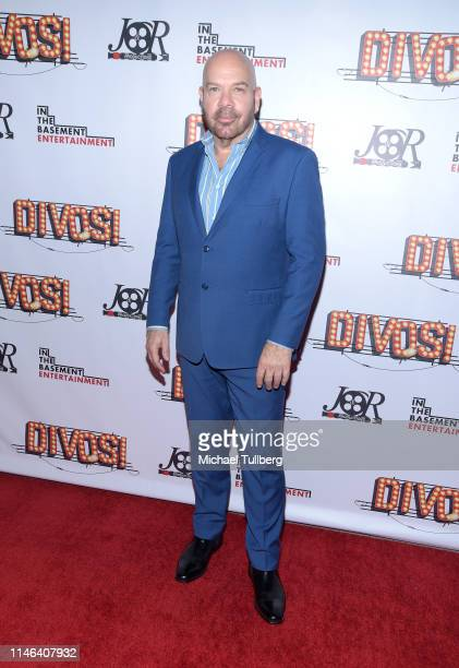 Actor Jason Stuart attends a Los Angeles VIP industry screening with the filmmakers and cast of DIVOS at TCL Chinese 6 Theatres on May 01 2019 in...