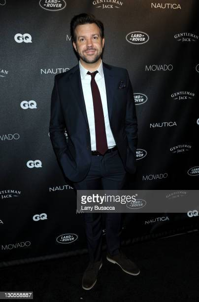 Actor Jason Sudeikis attends GQ's Gentlemen's Ball Presented By Gentleman Jack Land Rover Movado and Nautica at The Edison Ballroom on October 26...