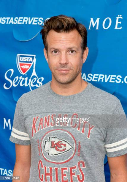 Actor Jason Sudeikis attends the 13th Annual USTA Serves Opening Night Gala at USTA Billie Jean King National Tennis Center on August 26 2013 in New...