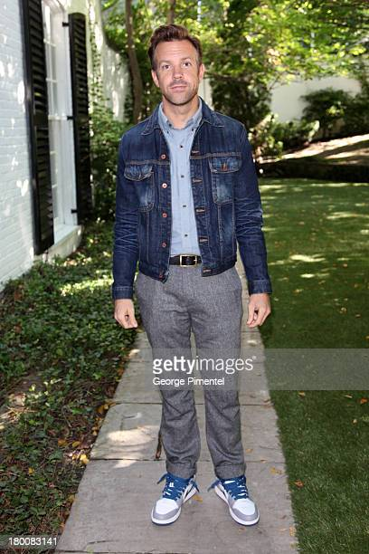 Actor Jason Sudeikis attends the Artists For Peace And Justice Brunch during the 2013 Toronto International Film Festival on September 8 2013 in...