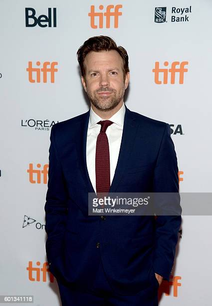 Actor Jason Sudeikis attends the 'Colossal' premiere during the 2016 Toronto International Film Festival at Ryerson Theatre on September 9 2016 in...