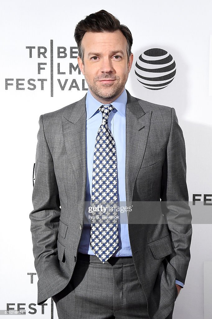 Actor Jason Sudeikis attends 'The Devil And The Deep Blue Sea' Premiere during 2016 Tribeca Film Festival at BMCC John Zuccotti Theater on April 14, 2016 in New York City.