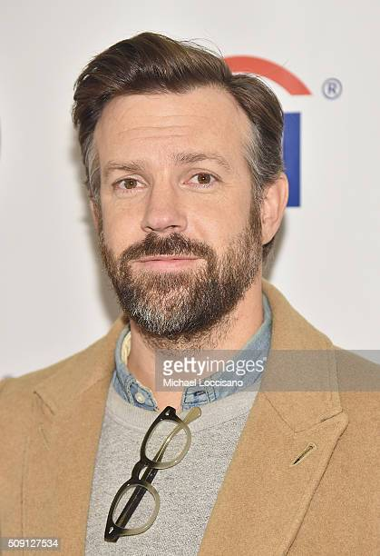 Actor Jason Sudeikis attends the New York screening of 'Tumbledown' at AMC Empire on February 8 2016 in New York City