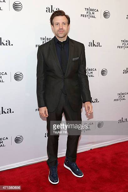 Actor Jason Sudeikis attends the world premiere of 'Meadowland' during 2015 Tribeca Film Festival at SVA Theater 1 on April 17 2015 in New York City