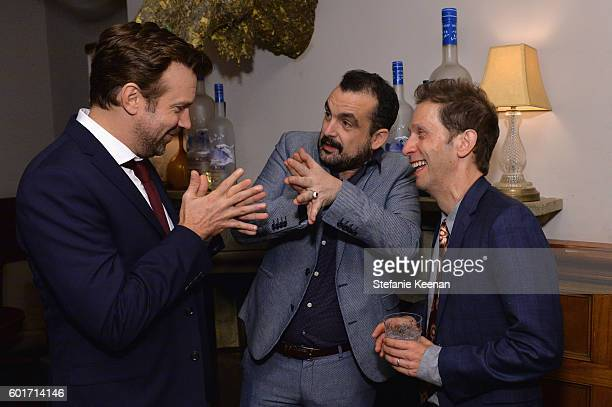 Actor Jason Sudeikis director Nacho Vigalondo and actor Tim Blake Nelson at the Colossal TIFF party hosted by GREY GOOSE Vodka and Soho House Toronto...