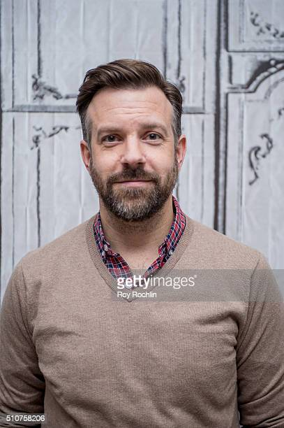 Actor Jason Sudeikis discusses his film 'Race' during AOL Build Speaker Series at AOL Studios on February 16 2016 in New York City