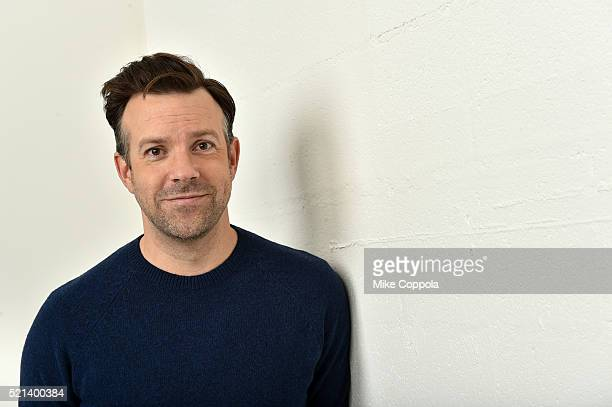 Actor Jason Sudeikis from 'The Devil and the Deep Blue Sea' poses at the Tribeca Film Festival Getty Images Studio on April 14 2016 in New York City