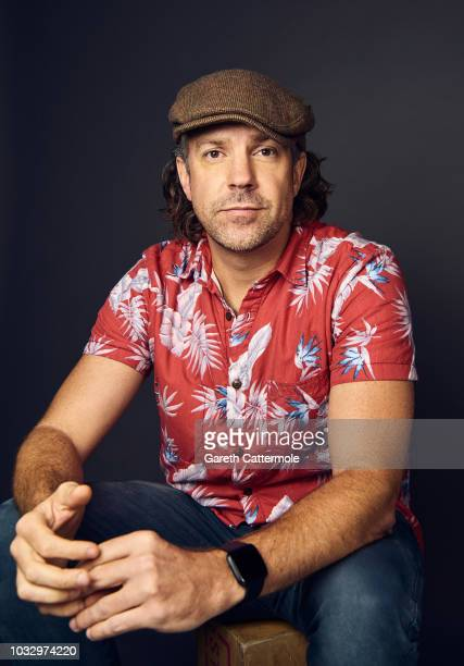 Actor Jason Sudeikis from the film 'Driven' poses for a portrait during the 2018 Toronto International Film Festival at Intercontinental Hotel on...