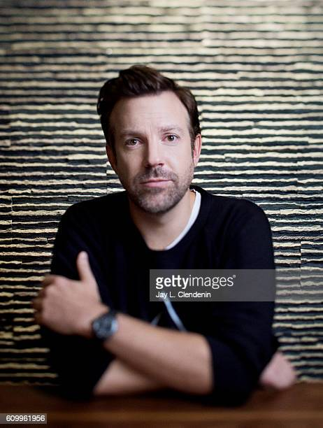Actor Jason Sudeikis of the movie 'Colossal' poses for a portraits at the Toronto International Film Festival for Los Angeles Times on September 9...