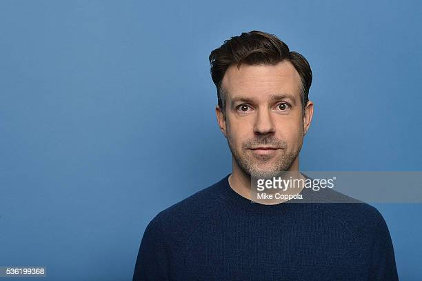 Actor Jason Sudeikis poses for a portrait at the Tribeca Film Festival on April 14 2016 in New York City