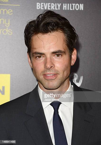 Actor Jason Thompson arrives at The 39th Annual Daytime Emmy Awards broadcasted on HLN held at The Beverly Hilton Hotel on June 23 2012 in Beverly...