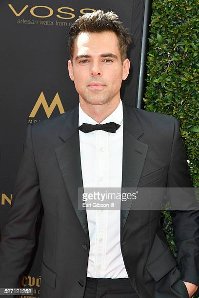 Actor Jason Thompson arrives at the 43rd Annual Daytime Emmy Awards at the Westin Bonaventure Hotel on May 1 2016 in Los Angeles California