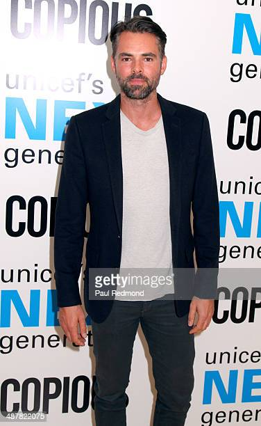 Actor Jason Thompson attends 1st Annual UNICEF NextGen LA Photo Benefit at SkyBar at the Mondrian Los Angeles on May 1 2014 in West Hollywood...