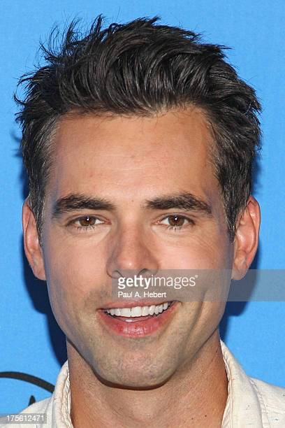 Actor Jason Thompson attends the Disney ABC Television Group's 2013 Summer TCA Tour at The Beverly Hilton Hotel on August 4 2013 in Beverly Hills...