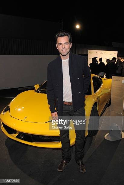 Actor Jason Thompson attends the second annual Art Mere/Art Pere Night presented by CORZO Tequila at Smashbox West Hollywood on October 6 2011 in...