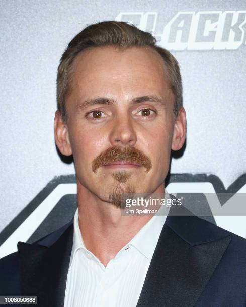 Actor Jasper Paakkonen attends the 'BlacKkKlansman' New York premiere at Brooklyn Academy of Music on July 30 2018 in New York City