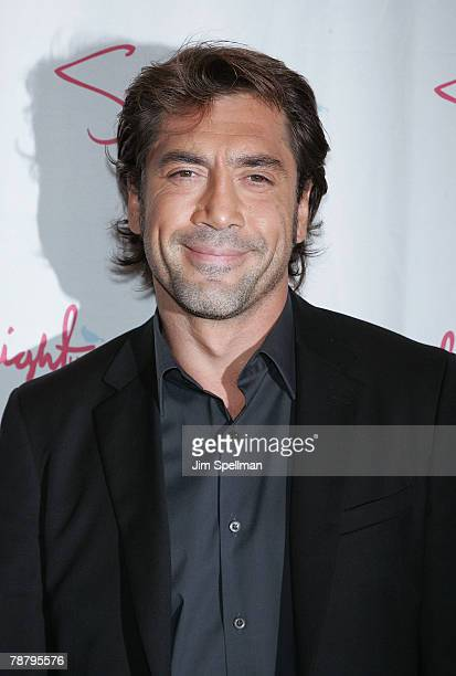 Actor Javier Bardem arrives at the 2007 New York Film Critic's Circle Awards at Spotlight on January 6, 2008 in New York City.