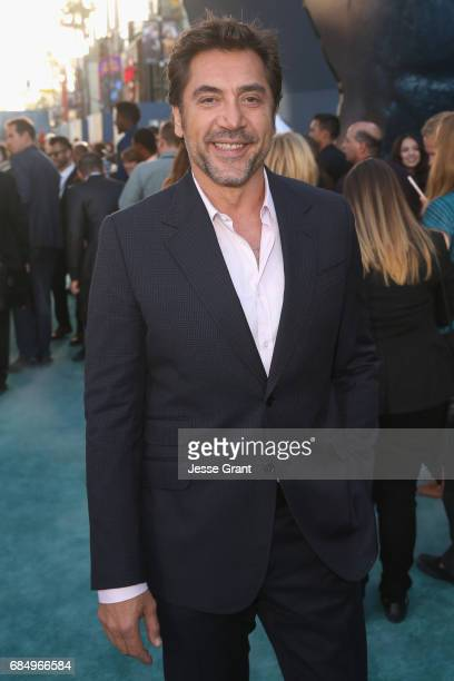 """Actor Javier Bardem at the Premiere of Disney's and Jerry Bruckheimer Films' """"Pirates of the Caribbean Dead Men Tell No Tales"""" at the Dolby Theatre..."""