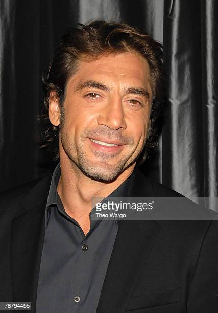 Actor Javier Bardem attends the 2007 New York Film Critic's Circle Awards at Spotlight on January 6, 2008 in New York City.