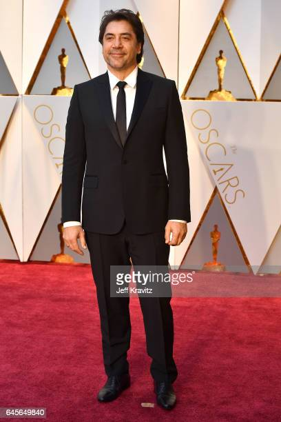 Actor Javier Bardem attends the 89th Annual Academy Awards at Hollywood Highland Center on February 26 2017 in Hollywood California