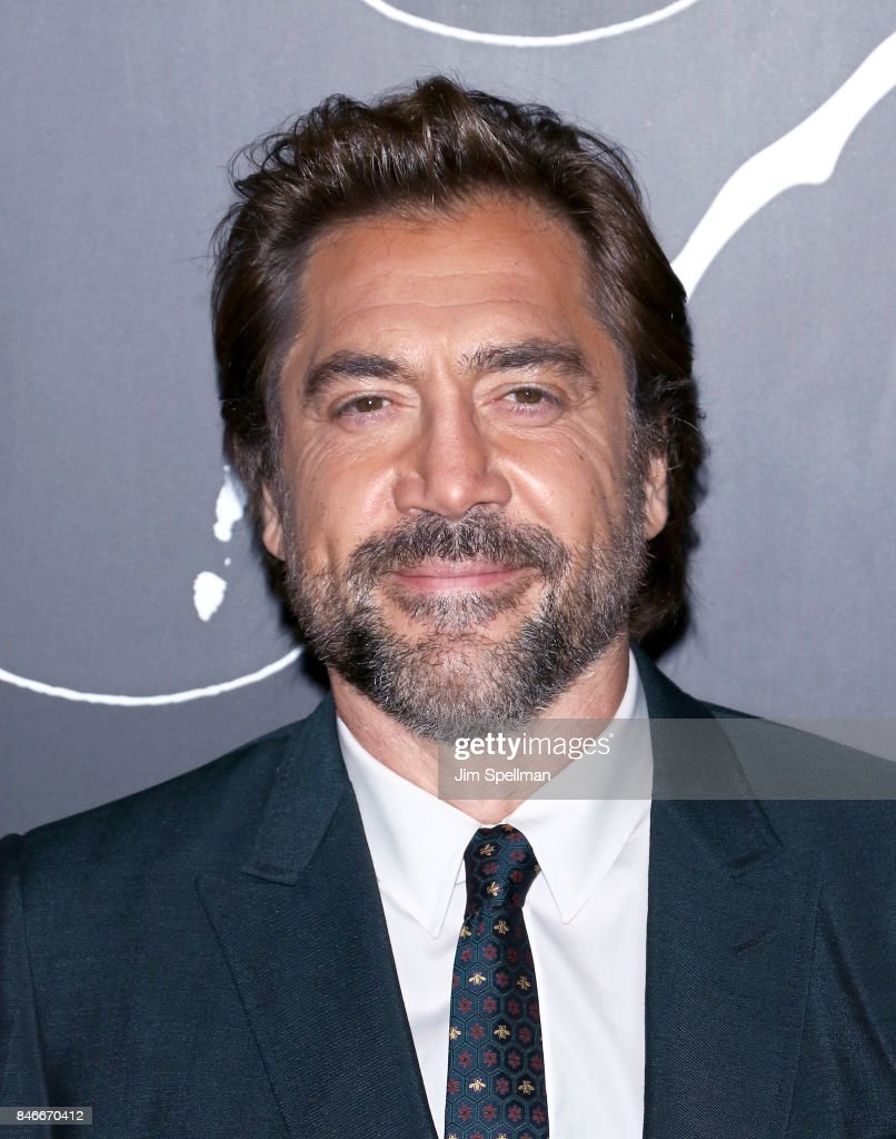 Actor Javier Bardem attends the 'mother!' New York premiere at Radio City Music Hall on September 13, 2017 in New York City.