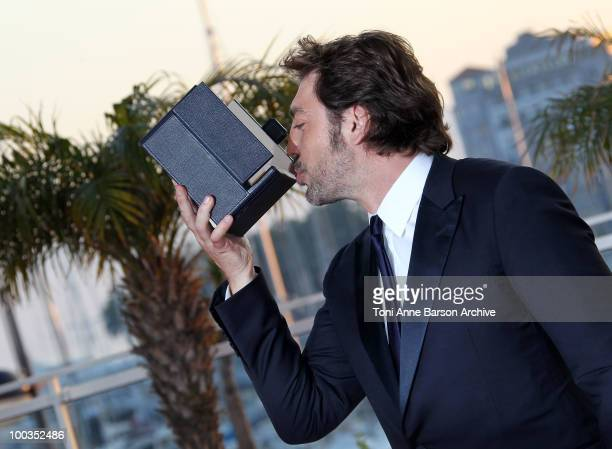 Actor Javier Bardem attends the Palme d'Or Award Ceremony Photo Call held at the Palais des Festivals during the 63rd Annual International Cannes...