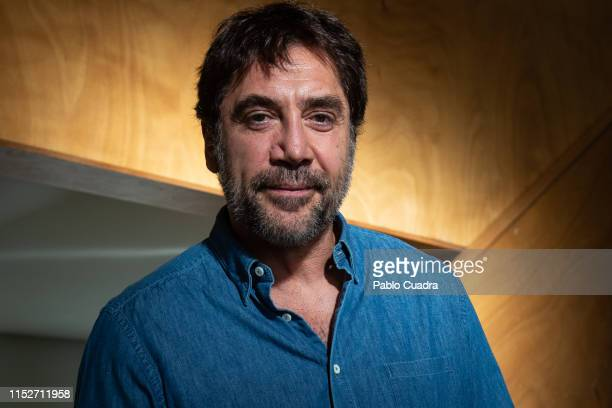 Actor Javier Bardem attends the presentation of the book 'Mongo Blanco' written by Carlos Bardem at Circulo de Bellas Artes on May 30 2019 in Madrid...
