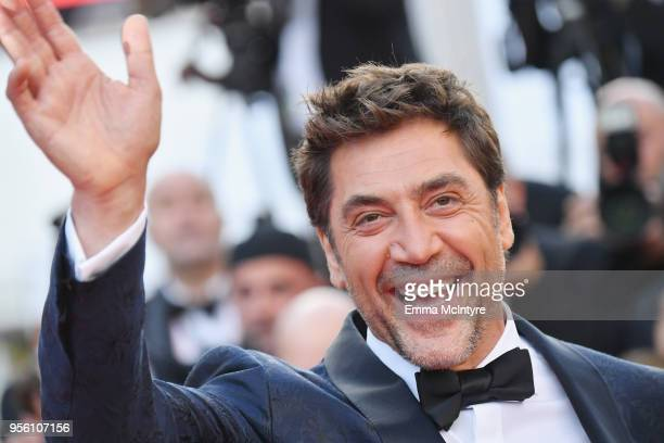 Actor Javier Bardem attends the screening of Everybody Knows and the opening gala during the 71st annual Cannes Film Festival at Palais des Festivals...