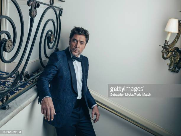 Actor Javier Bardem is photographed at the 71st Cannes Film Festival for Paris Match on May 8 2018 in Cannes France