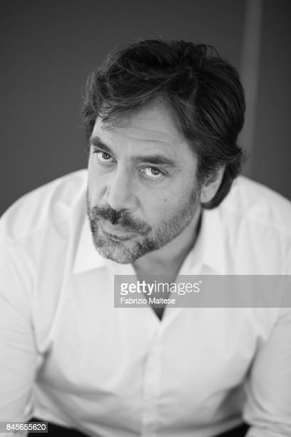 Actor Javier Bardem is photographed on September 6 2017 in Venice Italy