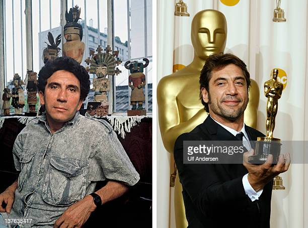 In this composite image a comparison has been made between Reinaldo Arenas and actor Javier Bardem Oscar hype continues this week with the...