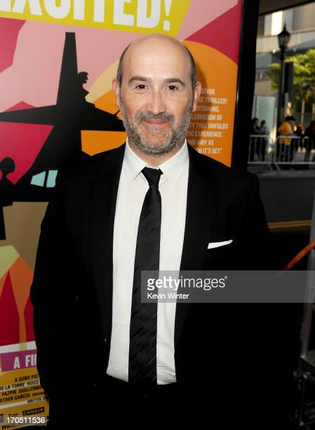 """Actor Javier Camara arrives at the premiere of Sony Pictures Classics """"I'm So Excited!"""" during the 2013 Los Angeles Film Festival at Regal Cinemas..."""