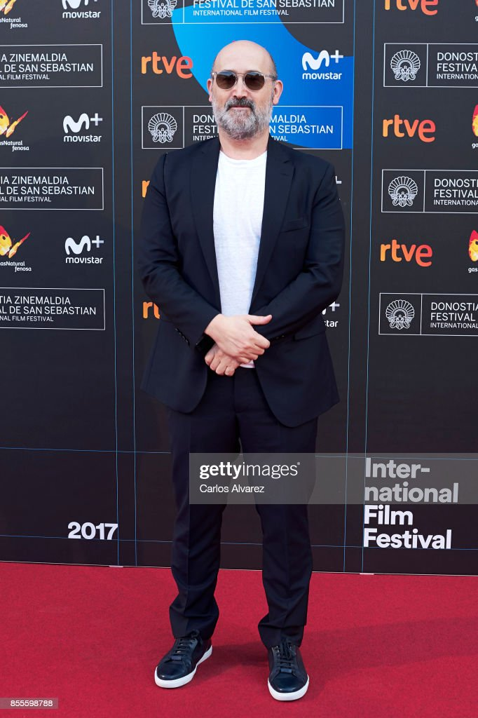 Actor Javier Camara on the red carpet for the premiere of the Netflix Film 'Fe De Etarras' at San Sebastian International Film Festival 2017 on September 29, 2017 in San Sebastian, Spain.