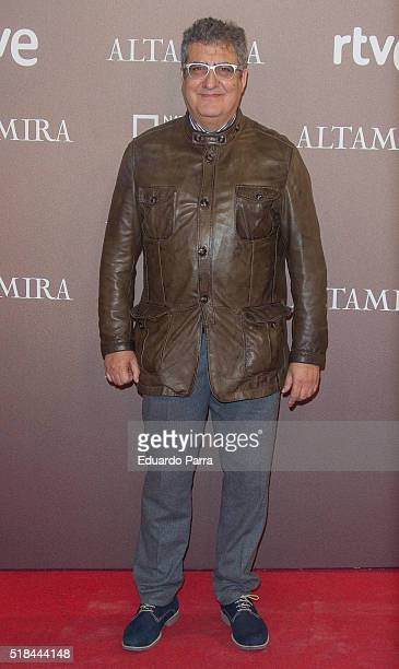 Actor Javivi attends 'Altamira' premiere at Callao cinema on March 31 2016 in Madrid Spain