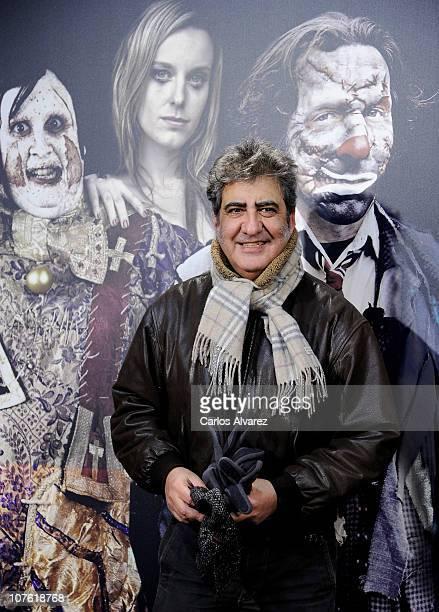 Actor Javivi attends 'Balada Triste de Trompeta' premiere at Capitol Cinema on December 15 2010 in Madrid Spain
