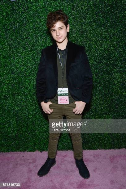 Actor Jax Malcolm attends Stylecon OC at OC Fair and Event Center on November 4 2017 in Costa Mesa California