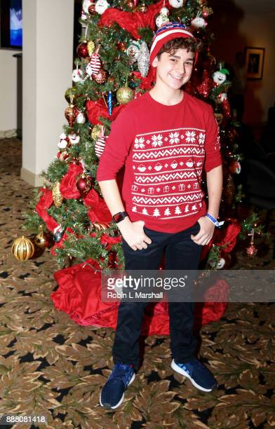 Actor Jax Malcolm attends the Holiday Tour of the Hollywood Museum at The Hollywood Museum on December 7 2017 in Hollywood California