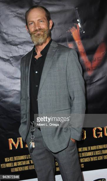Actor Jay Alan Christianson arrives for the Los Angeles Premiere of 'Miles To Go' held at Writers Guild Theater on April 5 2018 in Beverly Hills...
