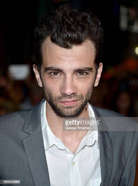 Actor Jay Baruchel arrives at the The Art Of The Steal Premiere during the 2013 Toronto International Film Festival at Roy Thomson Hall on September...