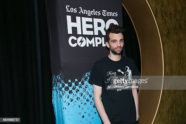 """Actor Jay Baruchel attends L.A. Times Hero Complex Film Festival """"How To Train Your Dragon 2"""" screening at TCL Chinese 6 Theatres on May 31, 2014 in..."""