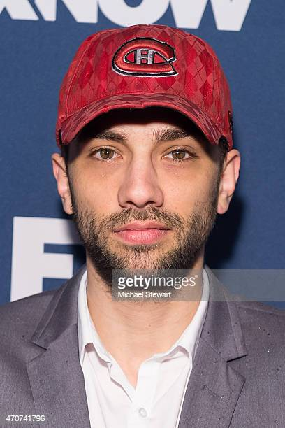 Actor Jay Baruchel attends the 2015 FX Bowling Party at Lucky Strike on April 22 2015 in New York City