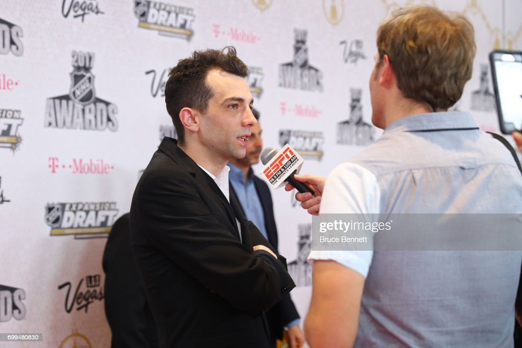 Actor Jay Baruchel Attends The 2017 Nhl Awards At T Mobile Arena