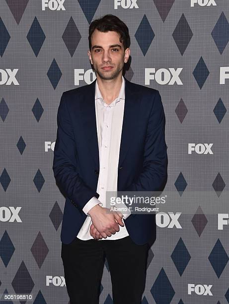 Actor Jay Baruchel attends the FOX Winter TCA 2016 AllStar Party at The Langham Huntington Hotel and Spa on January 15 2016 in Pasadena California