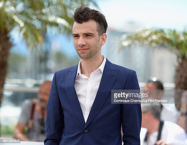 Actor Jay Baruchel attends the How To Train Your Dragon 2 photocall at the 67th Annual Cannes Film Festival on May 16 2014 in Cannes France