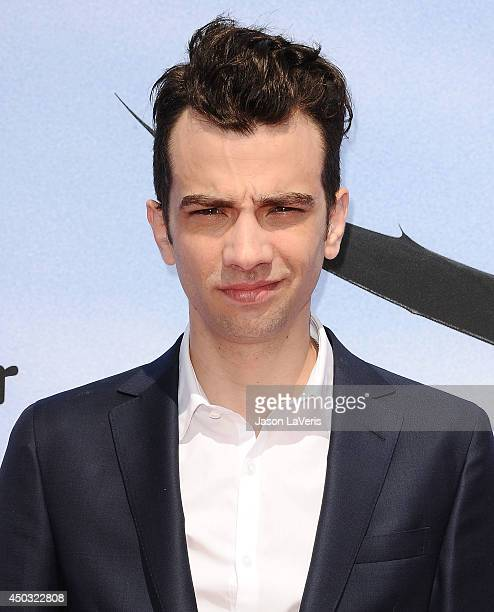 Actor Jay Baruchel attends the premiere of How To Train Your Dragon 2 at Regency Village Theatre on June 8 2014 in Westwood California