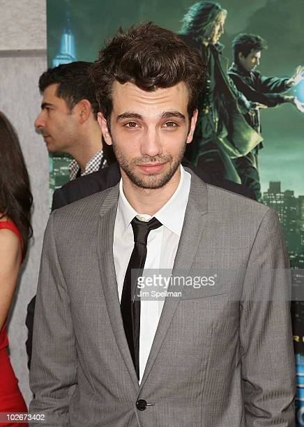 Actor Jay Baruchel attends the premiere of The Sorcerer's Apprentice at the New Amsterdam Theatre on July 6 2010 in New York City