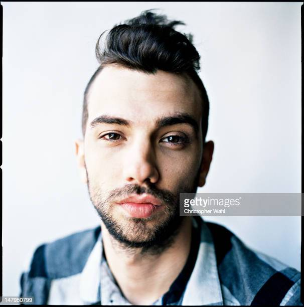 Actor Jay Baruchel is photographed for The Grid on September 1 2011 in Toronto Ontario